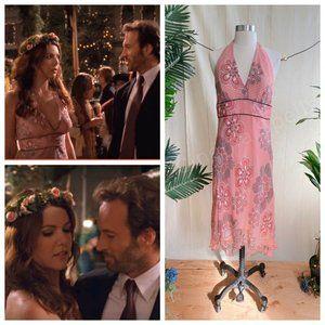 Dresses & Skirts - ASO Lorelai Gilmore Girls Pink Floral Halter Dress